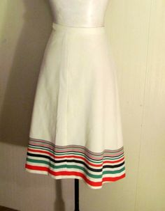 Retro 1960's Brightly Colored Striped Vintage by BeauMondeVintage, $26.00