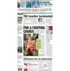 #TauntonGazette #FrontPage for Thursday, Aug. 2, 2012