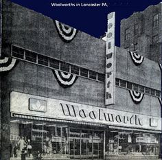 Woolworth in downtown Lancaster, PA