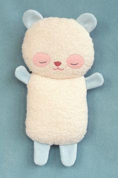 Pillow Petiti Panda Baby van PetitiPanda op Etsy