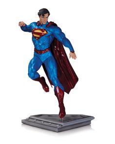 [DC COLLECTIBLES] O Homem de Aço: Estátua do herói Super-Homem por Kenneth Rocafort