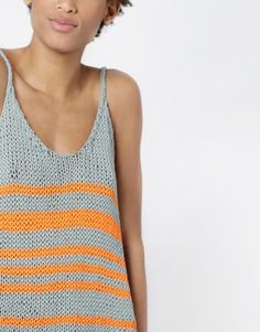 Bob Top Knitting Kit from Wool and the Gang Knitting Kits, Knitting Designs, Free Knitting, Crochet Tank, Knitted Tank Top, Knit Crochet, Top Pattern, Free Pattern, Wool And The Gang