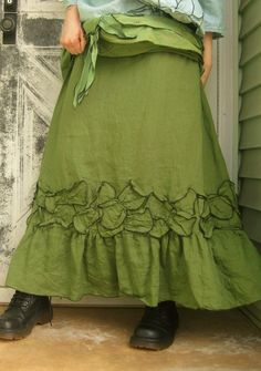 Petal Skirt by sarahclemensclothing on Etsy, $110.00