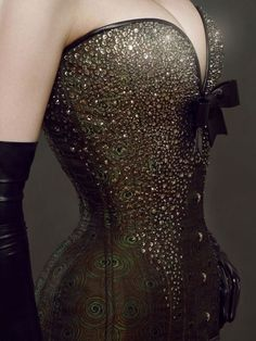 Rhinestone corset. Source: thecolorsofmy