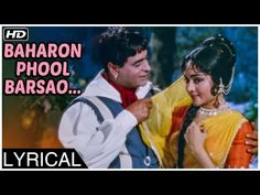 Watch this evergreen romantic song Baharon Phool Barsao starring Rajendra Kumar & Vyjayanthimala from the classic bollywood movie Suraj directed by T. Hindi Old Songs, Song Hindi, Hindi Movies, Hit Songs, Love Songs, Johny Walker, Old Bollywood Songs, Mom And Dad Quotes, Evergreen Songs