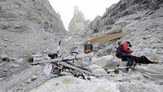 Drones capture mountain scenery in Pakistan (Photo: Corey Rich / AP)