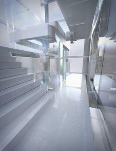 Futuristic Glass Ele
