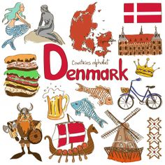 learn about Denmark and its cultural significance Geography For Kids, Teaching Geography, World Geography, Cultures Du Monde, World Cultures, Denmark Culture, Flags Of European Countries, Denmark Country, Danse Country