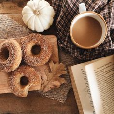 Good Morning All . Apple Cider Donuts, Good Morning All, Autumn Aesthetic, Autumn Cozy, Fall Baking, Hello Autumn, Low Sugar, Autumn Inspiration, Snack