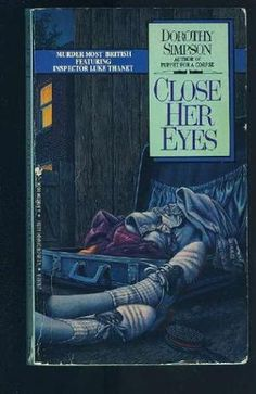 Close Her Eyes av Dorothy Simpson Murder Stories, I Love Books, Eyes, Reading, Charity, Hands, Thoughts, Silver, Reading Books