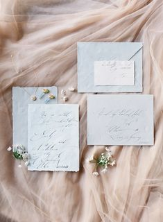 Blush and Grey Invitaiton suite Photography: Michael and Carina