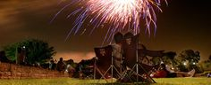 George Bush Library has an awesome fireworks show every 4th of July!