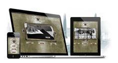 Responsive website til Blue de Gênes, Tilpasser alle enheder   mindthemedia webbureau i Kolding
