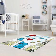 Kids Elephant Area Rug