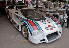 lancia lc2 martini racing goodwood