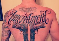 The Stir-Country Star Brantley Gilbert Covers His Back With Giant Tattoo Celebrating the Second Amendment (PHOTO)