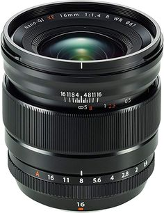 Buy a used Fujifilm Fujinon XF 16 mm R WR Wide-angle Prime Lens. ✅Compare prices by UK Leading retailers that sells ⭐Used Fujifilm Fujinon XF 16 mm R WR Wide-angle Prime Lens for cheap prices. Nikon D3200, Camcorder, Light Photography, Photography Tips, Aperture Photography, Photography Business, Landscape Photography, Foto Filter, Distancia Focal