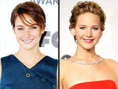 Jennifer Lawrence convinced Shailene Woodley to do Divergent. http://www.people.com/people/article/0,,20794136,00.html