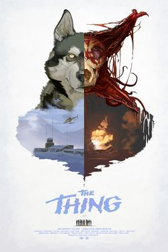 The Thing - movie poster Artist Unknown