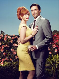 ✖ Joan Holloway & Don Draper