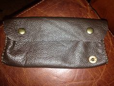 Hand made leather pencil bag with .303 British head-stamp.