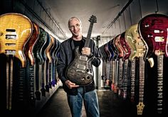 Nicholas McIntosh Photography: Editorial Style Portrait of Paul Reed Smith for Advertising with the State of Maryland