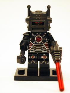 LEGO Collectible Minifigures Series 8 robot #LEGO Lego via www.alegoaday.com