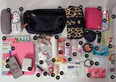 Travel Checklist, Travel Packing, Travel Backpack, Travel Tips, What In My Bag, What's In Your Bag, What's In My Purse, Road Trip Essentials, Eurotrip
