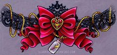 Sailor Moon Tattoo Designs | ... Tattoo design for the thigh. Prismacolor pencils on tracing paper