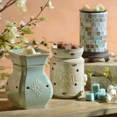 Fill the house with her favorite candle aromas without having to light a flame! Our Wax Warmers are the perfect gift for mom this Mother's Day because they give the same effect as a candle while filling her home with her favorite scent.