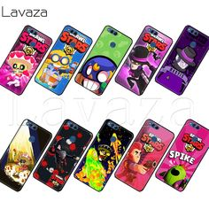 Lavaza brawl stars crow Case for Honor Mate 10 20 6a 7a 7c 7x 8 8C 8x 9 Lite Pro Y6 2018 Prime