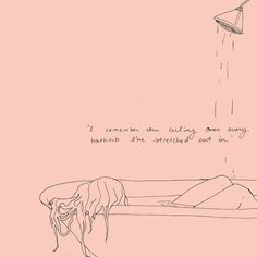 """""""I remember the ceiling over every bathtub I've stretched out in."""" - Sylvia Plath The last of the relics."""