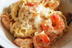 I had planned on Shrimp and Angel Hair pasta for next week, but looks like this has trumped my plans!