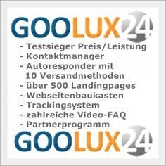 Landingpage erstellen mit der Goolux24 – Software
