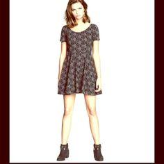 "Spotted while shopping on Poshmark: ""Grey and black rose skater dress""! #poshmark #fashion #shopping #style #H&M #Dresses & Skirts"