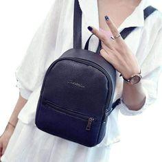 Careful Zipper Women Backpack Travel Diamonds Small Backpacks Pu Leather Waterproof Luxury Shoulder Bag Womens Daypacks Silver Xa234h Backpacks Luggage & Bags