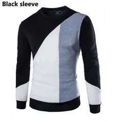 O-neck Long Sleeve Mens Sweater - All In One Place With Us - 2