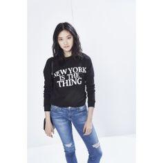 New York Sweatshirt | Rebecca Minkoff