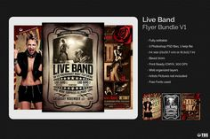 "Check out my @Behance project: ""Live Band Flyer Bundle V1"" https://www.behance.net/gallery/16545071/Live-Band-Flyer-Bundle-V1"