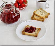 Gizi-receptjei. Várok mindenkit.: Eperdzsem. French Toast, Breakfast, Food, Morning Coffee, Essen, Meals, Yemek, Eten