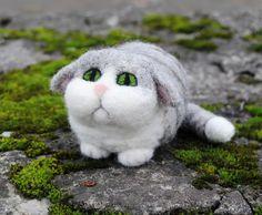needle felted kitty | Flickr - Photo Sharing!