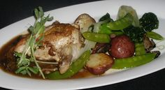 This week's Entree Fresh Sheet features Roasted Chicken Breast with organic mushrooms, baby potatoes and oriental vegetables plus 5 more great entrees.