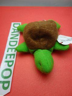 TY original Teenie Beanie Babie Speedy the Turtle 1999 McDonald's Happy Meal Stuffed Animal Toy New find me at www.dandeepop.com