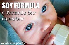 Soy Infant Formula: A Formula For Disaster