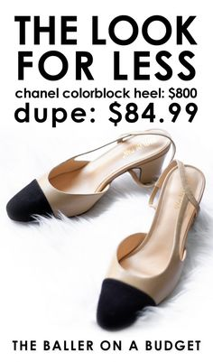 2f28bbf8b15  sponsored  The  800 Chanel slingback has met its dupe. For  84.99
