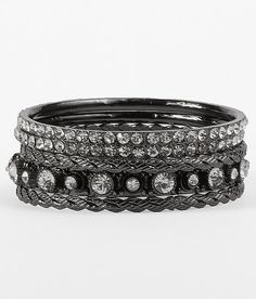 BKE Glitz Bangle Bracelet Set $14.00