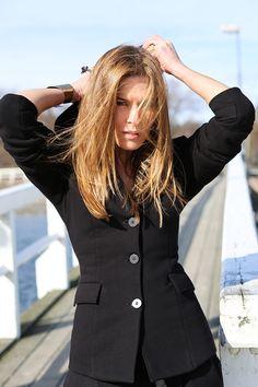 DRESOHOLICZKA black How To Make, Jackets, Women, Fashion, Down Jackets, Moda, Women's, Jacket, Fasion