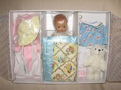 Tonner Effanbee Dy-Dee baby doll with Bunnies and Bears Layette.  LE250