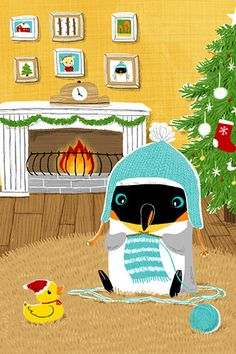 Penguin by Yu-hsuan Huang