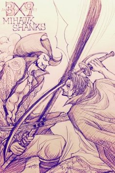 海贼王手绘欣赏